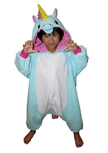 Kigurumi Pyjama Licorne Bleu 2750BL-F