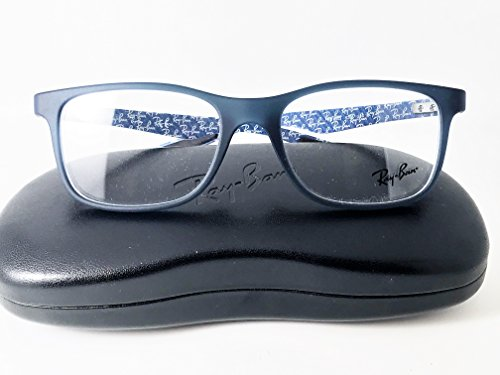 ray-ban-ophthalmic-gents-spectacle-frame-8903-c5262-53x18-matt-black-plastic-metal-sides