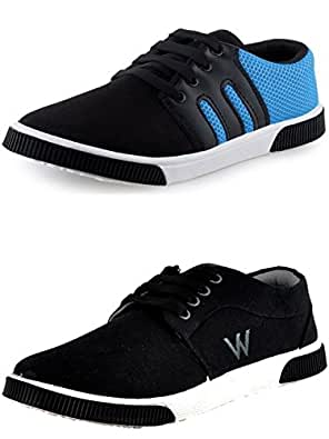 Scatchite Men's Multicolor Combo Of 2 Casual Shoe -8