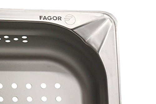 GN Behälter 2 3 Gastronormie Behälter gastronorm Fagor Edelstahl 354x325mm (1.4 L)