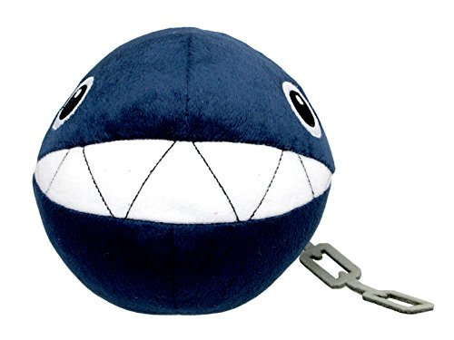 Super Mario - Chain Chomp Plush - All Star Collection - 13cm 5""
