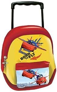 Cars UVA Fragola Kindergarten Backpack with Trolley