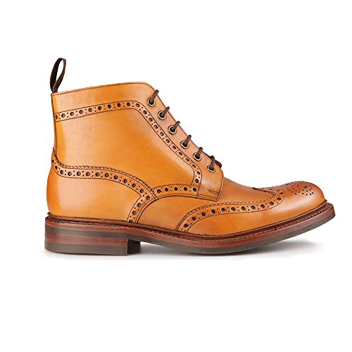 loake-bedale-brogue-stiefel-tan-gr-43