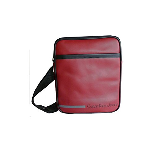 CKJ BESACE VINYLE BORDEAU BODY BAG CDS010-PBO0010-568 - Rouge