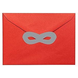 20 x Superheld Maske geformte Vinylaufkleber. Haus, Möbel, Fenster, Spiegel, Laptop, Autodekor. Basteln, Scrapbooking, Karten machen.