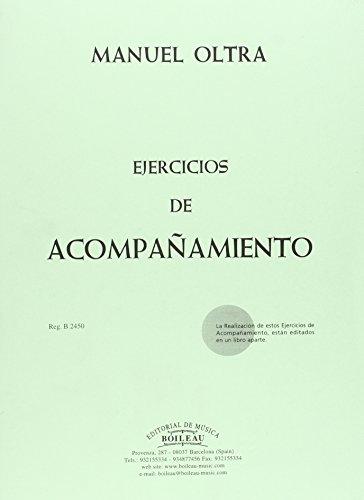 Ejercicios de acompañamiento por Manuel Oltra