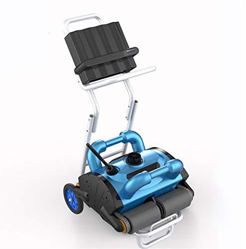 Homeure Robot Elettrico Pulitore Automatico Piscina per Fondo + Pareti-Intervallo di Pulizia 500-1500m²