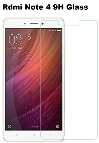 SHOPPING MART Xiaomi Redmi Note 4 Full Coverage Tempered Glass Screen Protector