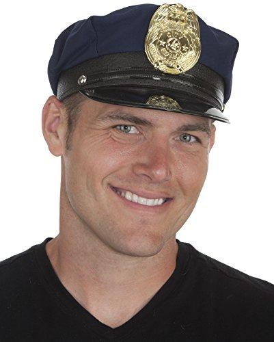 Jacobson Hat Company Men's Police Cap, Navy, Adult by Jacobson Hat (Jacobson Hat)