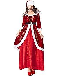 Zounghy Disfraz de Cosplay de Elf de Santa Claus, Unisex, para Adultos, sección