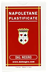 Idea Regalo - Dal Negro 10017 - Napoletane Carte da Gioco Regionali, Astuccio Rosso