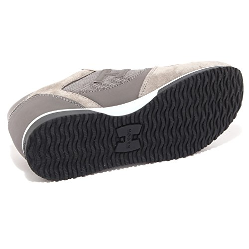 6585Q sneaker HOGAN H198 SLASH H3D grigio uomo scarpa uomo shoe men Grigio