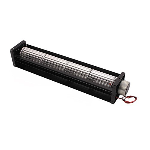 DealMux Universal-DC-12V 3.6W Kugellager Cross Flow Lüfter 340mm x 61mm x 61mm
