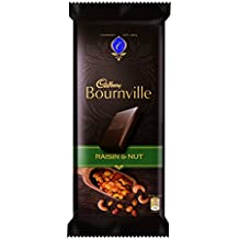 Cadbury Bournville Dark Chocolate Bar with Raisin & Nuts, 80 gm (Pack of 4)