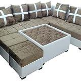 MARUTI ENTERPRISES Living Room and Dining Room Modern Type Sofa Set