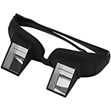 Fansport Gafas Horizontales Gafas de Cama Lazy Periscope Lie Down Reading Ver Las Gafas de TV