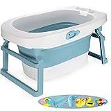 WYBD.Y Badewanne, Faltbare Badewanne, faltbares Kind, das Erwachsenenpool-Faltbare Badewanne-Baby-Plastikhundeschwimmbad-Reise-Pool-EIS-Zinn-Blasen-Behälter-Behälter badet