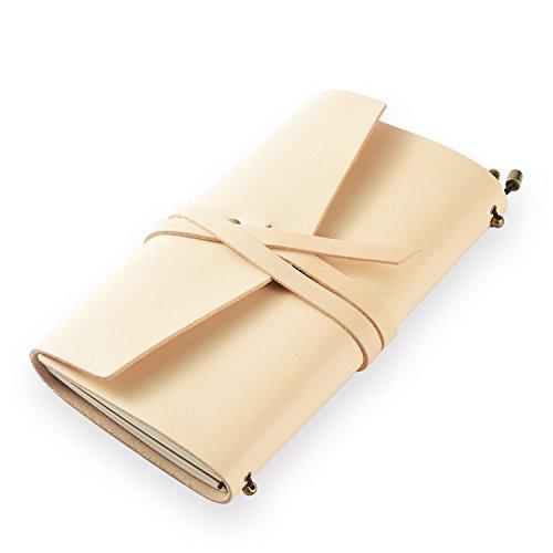 Klassisches Notizbuch/Tagebuch aus echtem Leder, mit nachfüllbaren Seiten, 100 {ea115106de960a97109b3941e9e4e9b98dea10f0c016aa4a46fafa4d91806f00} handgefertigt, Geschenk, Reisetagebuch, Tagebuch, von ScrodCat L pin-line