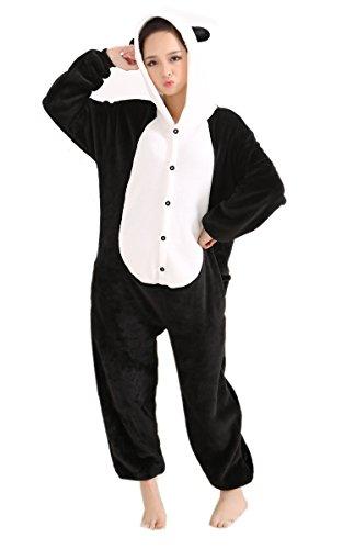 Imagen de lihao pijama disfraz de panda para adulto unisex, cosplay, carnaval talla l