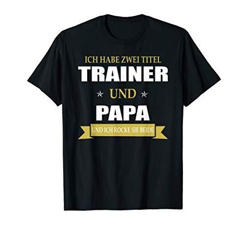Herren Lustiges Trainer Papa Vater Sport Coach T-Shirt - Lustige Hockey-t-shirts