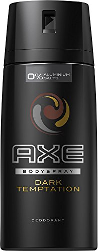 Axe Dark Temptation Desodorante - Paquete de 3 x 150 ml - Total: 450 ml