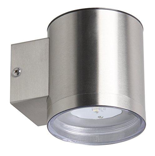 Ranex LED Wandleuchte, kabellos durch Solarenergie für den Außenbereich, GWS-001-DS