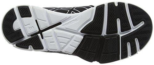 Asics Ladies Gel-craze Tr 4 Indoor Scarpe Nere (nero / Bianco)