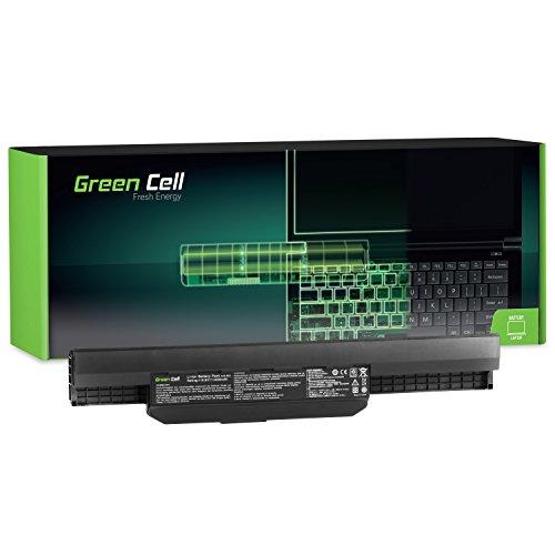 Green Cell® Standard Serie A32-K53 A41-K53 Akku für Asus K53 K53E K53S K53SJ K53SV K53U X53 X53S X53SV X53U X54 X54C X54F X54H X54L (6 Zellen 4400mAh 10.8V Schwarz)