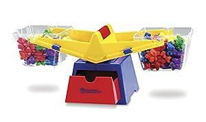 Learning Resources- Balanza de Cubos de Primaria con Figuras de Osos Baby Bear, Color (LER0779)