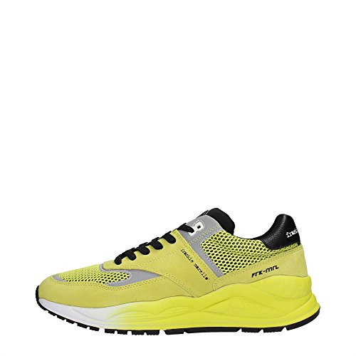 Frankie Morello 19YE Sneakers Uomo Scamosciato Yellow Yellow 44