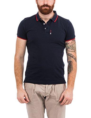 S.HT Herren Poloshirt Giannutri Blu (Navy)