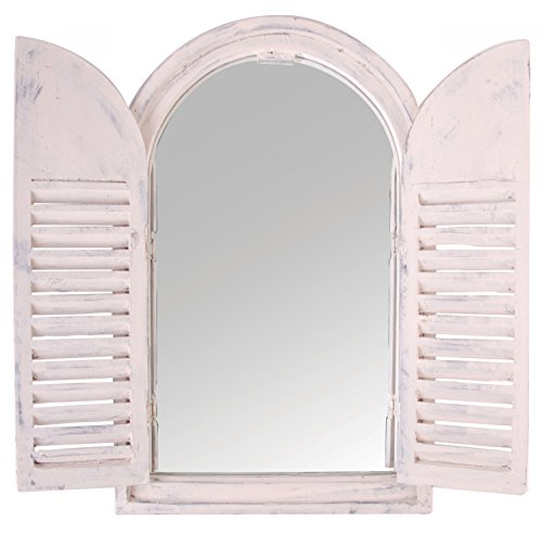 Spiegelfenster im Shabby Chic Stil Antik Landhaus Vintage Holz (Vintage Fenster)