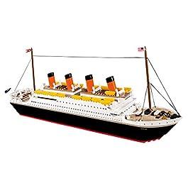 COBI- Transatlantico Britannico R.M.S. Titanic, Multicolore, 1914A