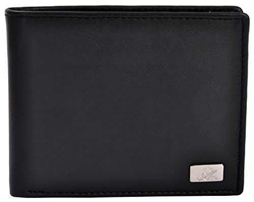Am Leather Black Men's Wallet