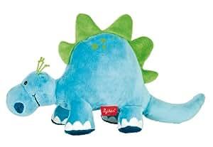 Sigikid 38331 - Plüschtier Dino, groß, DibuDabaDinos, blau