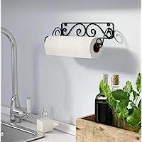 Kundi Wall Mounted Paper Towel Holder for Kitchen, Toilet, Bar, Office, Restaurant