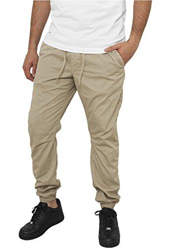 Urban Classics TB 1017 Cotton Twill Jogging Pants Beige Hose Dungarees Men
