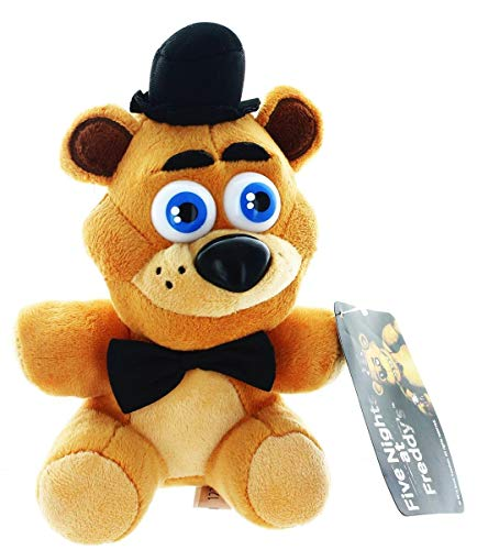 Five Nights At Freddys - Freddy Fazbear Plush - 17cm 6.5""