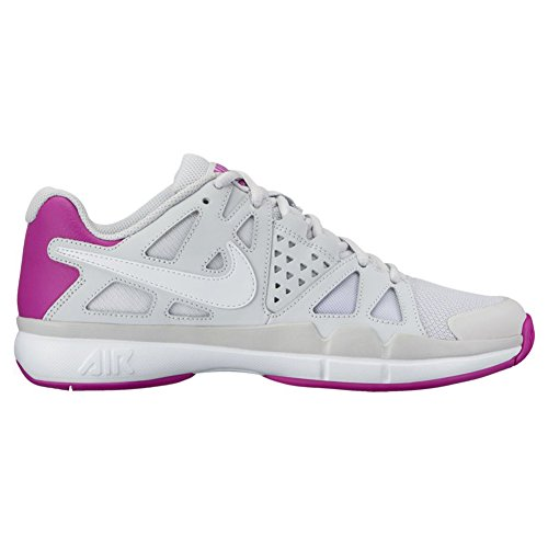 Nike ,  Damen Sneaker Low-Tops Pure Platinum/White-Vivid Purple