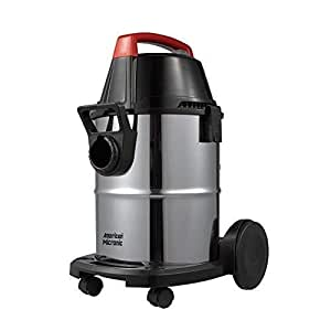 American Micronic-AMI-VCD21-1600WDx-Wet and Dry Vacuum Cleaner with Blower Function, 1600Watts, 21-litres, Stainless Steel Drum