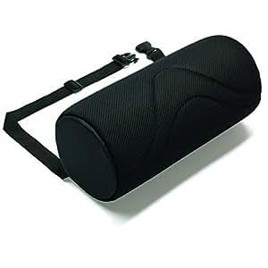 NRS Healthcare-Cuscino lombare originale, aiuta a prevenire il mal di schiena, con supporto lombare, per casa, ufficio, auto e nuovi Design ergonomico con tessuto a rete 3D, disponibile in 10,16 (4 cm, Design & (5 12,70 cm