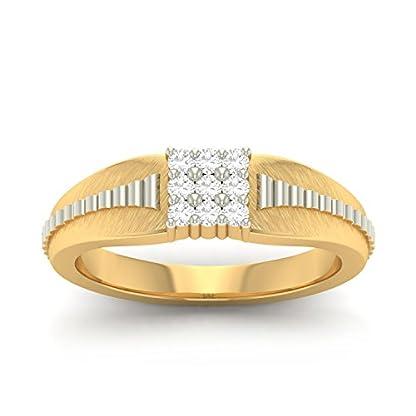 PC Jeweller The Zavian 18KT Yellow Gold & Diamond Rings