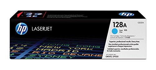 HP 128A (CE321A) Cyan Original Toner für HP Laserjet Pro CP1525, HP...