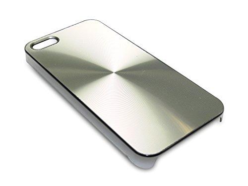 Sandberg Alu Circle Cover für iPhone 5/5S silber