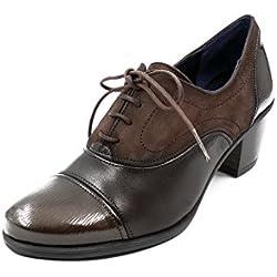 Zapato Abotinado Cordones Dorking-Fluchos