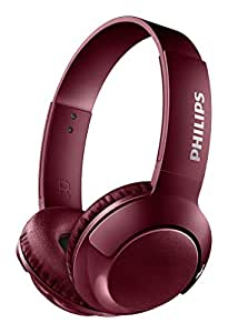 Philips Bass+ Bluetooth Headphone Red (SHB3075RD/27)