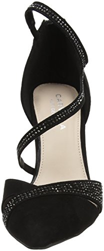 Carvela Lunar, Fermé Toe Heel Chaussures Femme Noir (noir)