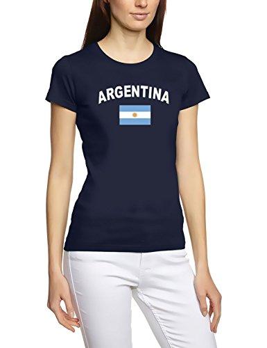 EM 2016Football toutes les Nations T-shirt Femme s M L XL XXL tous les participants Pays De La Em 2016 - Argentine