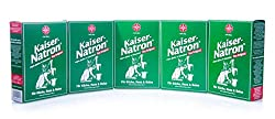 5x HOLSTE Kaiser Natron 250g soda, baking, cooking, washing, cleaning house, kitchen