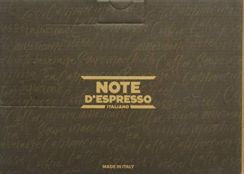 Note D\'Espresso - Cápsulas de té negro con melocotón, ginseng y jengibre compatibles con cafeteras Dolce Gusto, 16g (caja de 48 unidades)